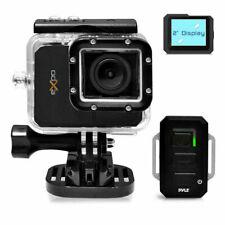 """NEW Pyle PSCHD90BK Hi-Res Action Camera 20 Mega Pixel HD Video 2"""" LCD & Remote"""