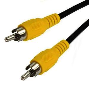 Cinchkabel für Video, Composite, FBAS, Audio - Koax - RG59 - 75 Ohm - 2 Meter