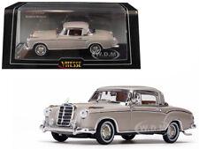 1958 MERCEDES BENZ 220 SE COUPE CREAM 1/43 DIECAST MODEL CAR BY VITESSE 28661