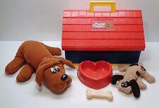 New listing Vintage 1986 Tonka Pound Puppies, Dog House, Bone and Food Dish