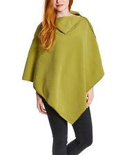 NunaWraps Lime Fleece Poncho Cape Travel Wrap Quality AntiPill Fleece USA MADE