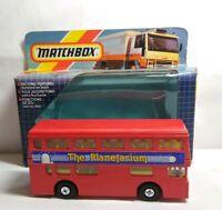 MATCHBOX SUPERKINGS 1986 DIECAST THE LONDONER - THE PLANETARIUM - K-15 - BOXED