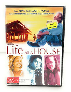 Life As A House (DVD 2001) New & Sealed Kevin Kline Region 4 Free Postage