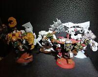 Warhammer 40k  Ork Nobz x5