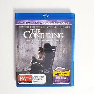 The Conjuring Movie Bluray Region 4 AUS Free Postage Blu-Ray - Horror
