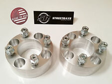 """[SR] 2pc 2.5"""" Thick 4x4 to 4x4 Wheel Spacers YAMAHA Golf Carts M12x1.25 (2.5 in)"""