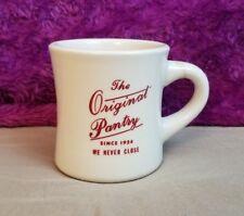 The Original Pantry Coffee Mug Cup Diner Restaurant since 1924 We Never Close