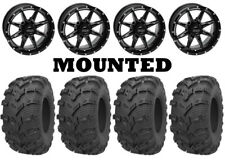 Kit 4 Kenda Bearclaw EVO K592 26x9-14/26x11-14 on Slicer Gloss Black POL