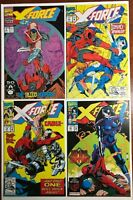 X-FORCE 2 11 15 23  Deadpool Domino Cable Appearances Marvel Comic Book Lot NM