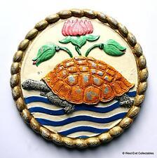 INS Jamuna - Indian Navy Maritime Tortoise Metal Tampion Plaque Badge Crest