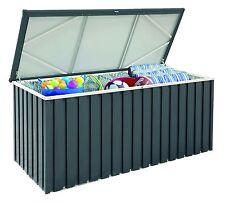 Tepro 7423 Auflagenbox Metall-Gerätebox 170x70 anthrazit/weiß