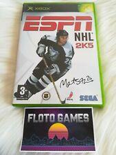 Jeu ESPN NHL 2K5 pour X-Box XBOX PAL Complet CIB - Floto Games