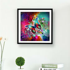 DIY 5D Diamond Embroidery colorful butterfly full Diamonds Painting Cross JB