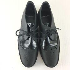 Pierre Hardy Mens Shoes Oxford Dress Black White Lace Up Size Eur 39 US 9