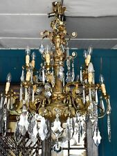 Large antique Italian chandelier
