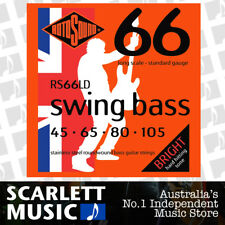 Rotosound RS66-LD Swing Bass Set Stainless Steel 45-105 Long Scale