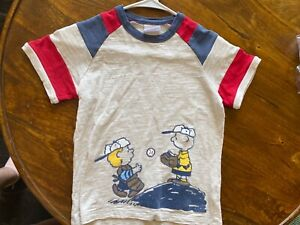 hanna andersson 120 boys tan peanuts T-Shirt