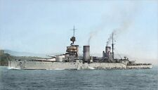 ROYAL NAVY WORLD WAR I BATTLECRUISER HMS  LION