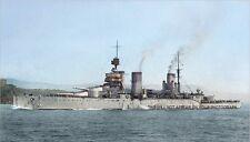 ROYAL NAVY WORLD WAR I BATTLECRUISER HMS  LION