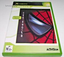 Spiderman Xbox Original PAL (Classics) *Complete*