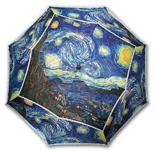 "Gogh ""Starry Night"" painting long size automatic umbrella"