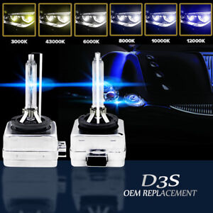 Set(2) D3S/D3C/D3R HID Xenon Bulb Replace OEM Factory HID Headlight 42403 66340