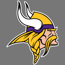 Minnesota Vikings NFL Car Truck Window Decal Sticker Football Laptop Yeti Bumper