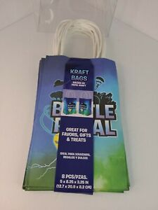 Fortnite Birthday Party Decorations Party Supplies 8 Pack Favor Kraft Gift Bags
