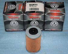 3 filtres à huile TRAX KTM 250 450 SX-F EXC-F 500 EXC HUSQVARNA FC 501 Husaberg