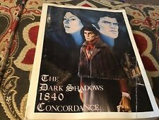 The Dark Shadows 1840 Concordance
