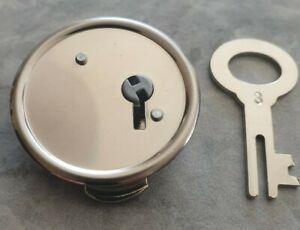 Spardosenschloß Metal 39 mm
