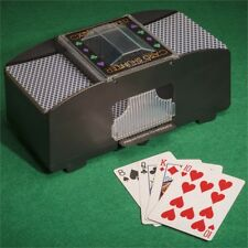 Tobar Automatic Card Shuffler Machine - 2 Deck Includes Packs Playing Cards