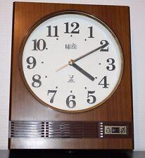 ++ très jolie pendule JAZ electronic vintage réveil horloge carillon ++
