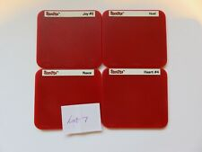 Sizzix Red Sizzlit Die Set Christmas Serenity Lot 7