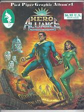 1986 Pied Piper Comics Graphic Album Novel TPB Hero Alliance End of Golden Age