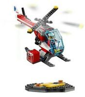 LEGO City Hospital Air Ambulance Helicopter & Pad & Paramedic Pilot Minifigure