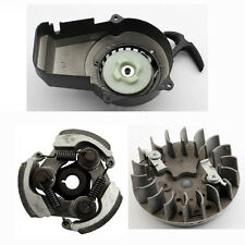 Pull Start + Flywheel+ Clutch 47 49cc ATV QUAD Pit Dirt Bike Pocket Scooter MINI