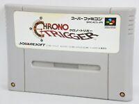 CHRONO TRIGGER Super Famicom Nintendo SNES Free Shipping Hit-Japan sfc