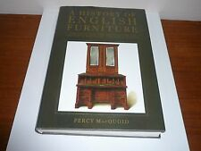 A HISTORY OF ENGLISH FURNITURE BY PERCY MacQUOID