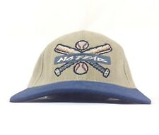 Vtg No Fear Baseball Bat Balls Logo Face Your Fears Baseball Cap Hat Snapback