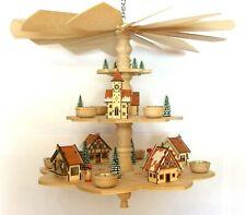 Laubsägevorlage Weihnachtspyramide Deckenpyramide Weihnachtsmarkt 49cm