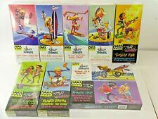 Lot of 9 Hawk Classics Silly Surfers & Frantics Plastic Model Kits Retro Cool!