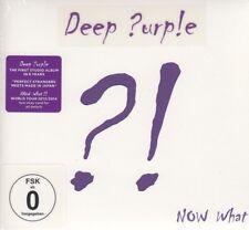Deep Purple / Now What?! (Limited Edition, CD & DVD, NEU! Original verschweißt)