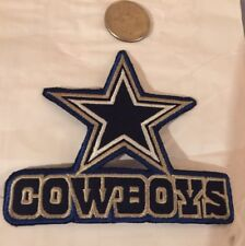"Dallas Cowboys vintage Retro embroidered iron on   Patch Vintage  4""x 3"" Nice!!"