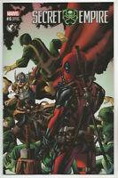 Secret Empire 6 Marvel 2017 NM Mike McKone Variant Thor Deadpool