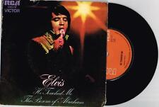 "ELVIS PRESLEY - HE TOUCHED ME - MEGA RARE 7"" 45 VINYL RECORD w PICT SLV - 1972"