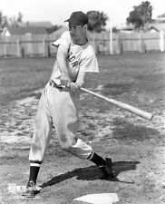 young TED WILLIAMS RED SOX LEGEND IN ACTION 8X10 h
