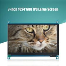 16:9 7 inch 1080P HDMI HD IPS Capacitive Touch Screen LCD for Raspberry Pi Black