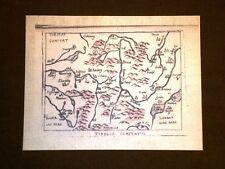 Mappa Tirolo Theatrum Orbis Terrarum 1724 Abraham Ortelius Ortelio Ristampa