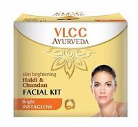 VLCC Ayurveda-Skin Brightening Haldi And CHandan Facial Kit - 50g Free Ship